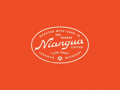 Final Niangua Script script brand identity branding logo