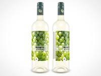 Psd Wine Bottle Mockup