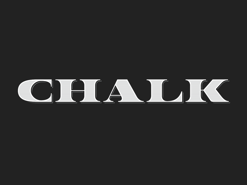 Chalk by Christopher Lee on Dribbble
