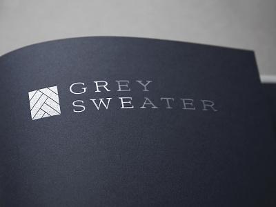 Grey Sweater logo designer branding brand oklahoma brand identity logo design logo