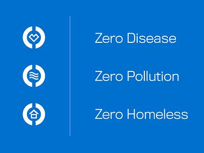 Stat Zero Icons icon icon design dynamic circle iconset icons branding