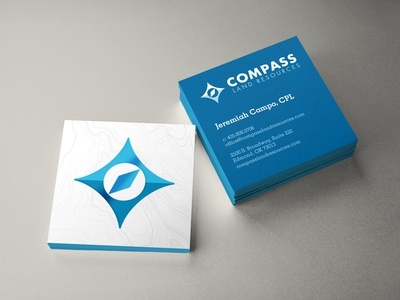 Compass Logo and Business Cards