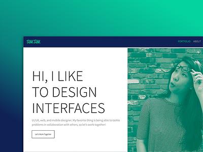 Portfolio Version ?? design webflow portfolio web design