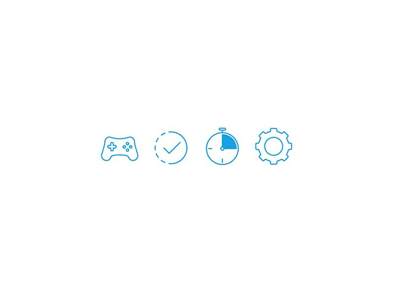 4 is a Family icon set illustration icons