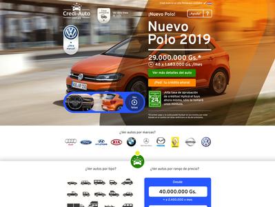 Credi-auto main car credit car automobile auto ux uiux ui design website