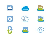 Cloud Isotype study
