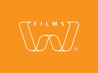 W Films identity logotype logo