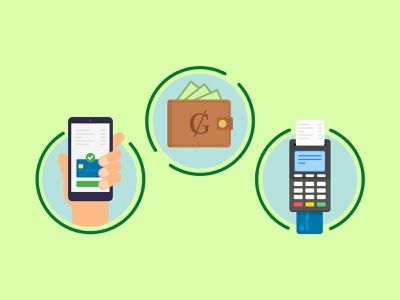 E-commerce payment options icons vector illustration icon product design ui  ux