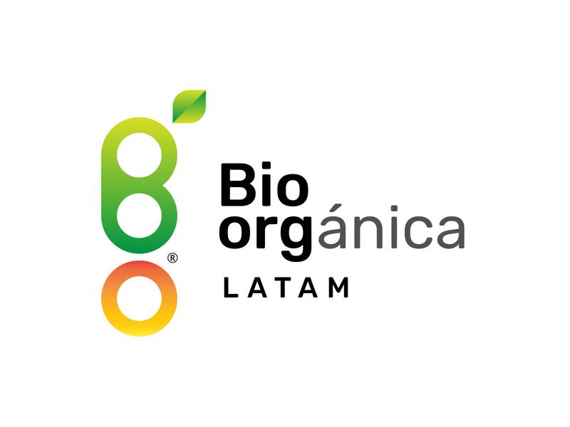 Bio-orgánica LATAM identity corporate identity isotype idenity logotype