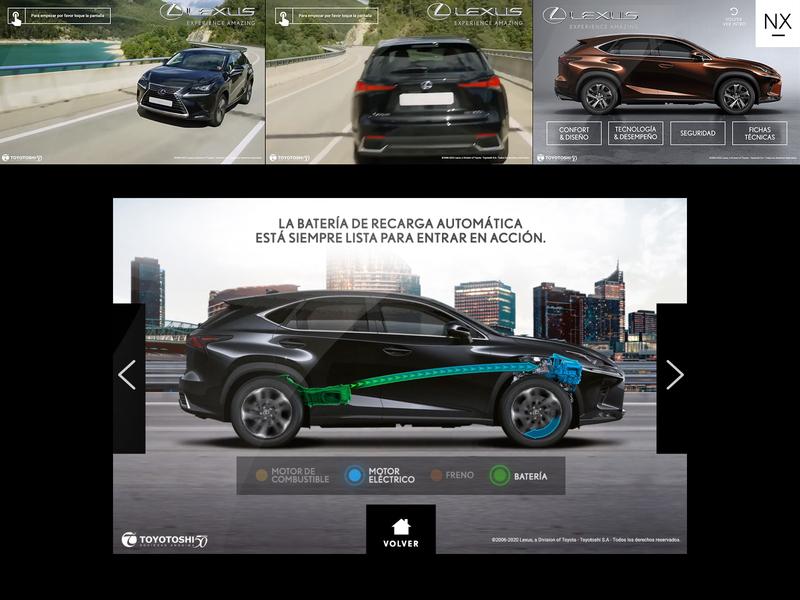 Lexus Touch System ui touchscreen touch lexus