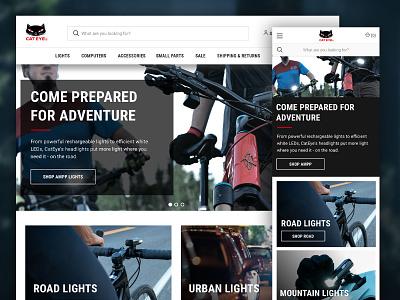 Cateye America BigCommerce Site Design bigcommerce ecommerce art direction web design