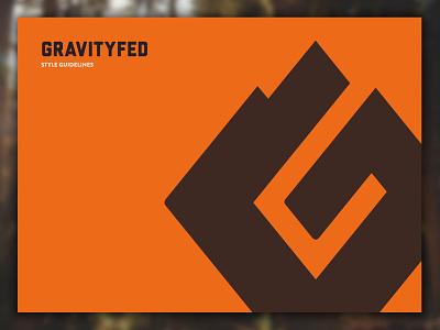 Gravity Fed Logo & Brand Identity identity art direction branding brand logo
