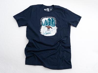 Father Bob Sundance Edition Tee product skiing illustration t-shirt brand