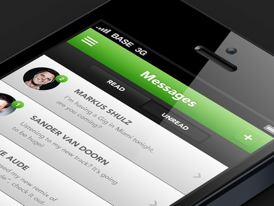 Messages hub app dj messages iphone