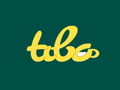 Tibo logo logo green yellow drinks