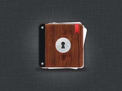Book Of Secrets Icon book app icon key