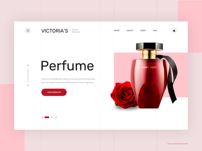Victoria's Product Landing Template web design ecommerce modern design interface mockup product page landingpage ui ux creative clean