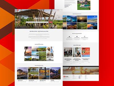 Luxury Villas - Landing page oman javed website onepage landingpage homepage