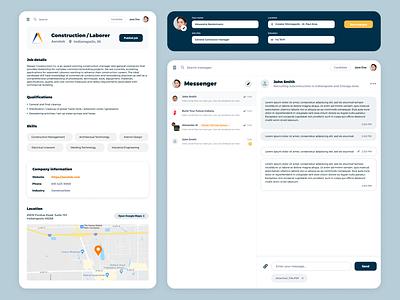 Digital Contractor Platform contractor employee company jobsite jobs linkedin contractors digital platform search messenger app messenger