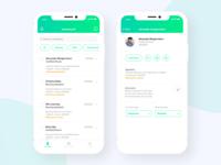 Hiring Platform iPhone App