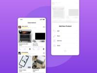 Sale App Screens
