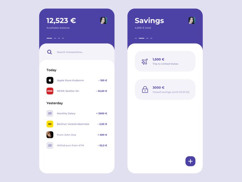 Banking Interface