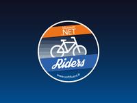 Sticker DotNet Riders