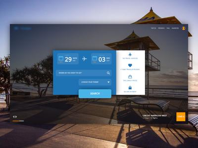 Home Travel Website trip app ux ui landing webdesign travel website home