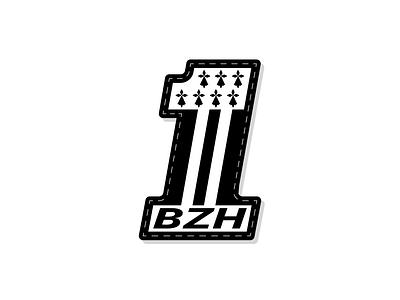 Brittany Logo n°1 illustrator graphic logotype flag breizh brittany typography icon vector design logo illustration
