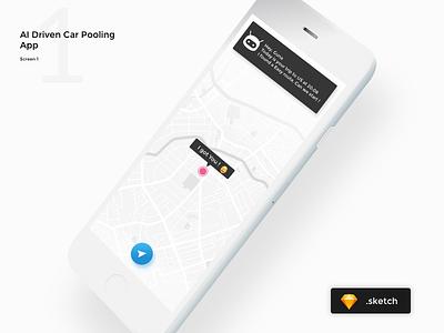 Iphone Mockup Free Download app iphone mockup uber carpooling ai