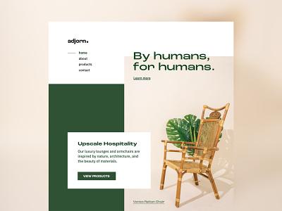 Landing Page dailyui 003 minimal photography branding ux web design web ui design dailyui