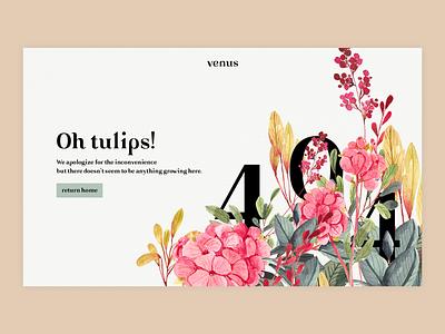 Error 404 dailyui008 illustration web design web ui design dailyui