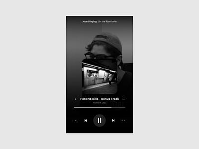 Music Player ux mobile ui design dailyui