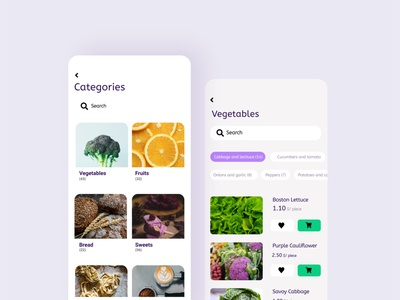 A Food Delivery App! app product design ux ui