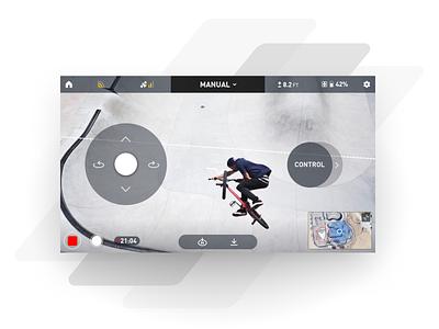 Snap iOS app ux app design app visual interaction drone display interface uiux ui design mobile ios android