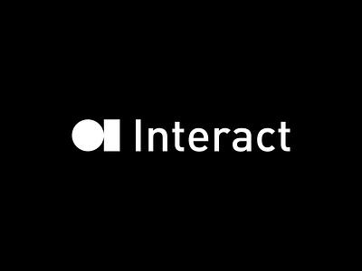 Introducing Interact visual  identity identity branding brand identity mark brand branding visual design visual identity logo mark logo identity