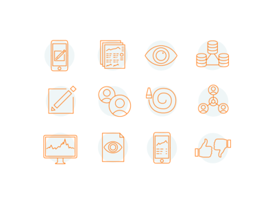 InfoScout Corp Iconography