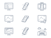 InfoScout.co Iconography