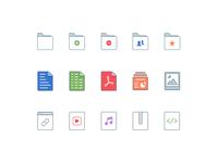 Edmodo File Type Iconography