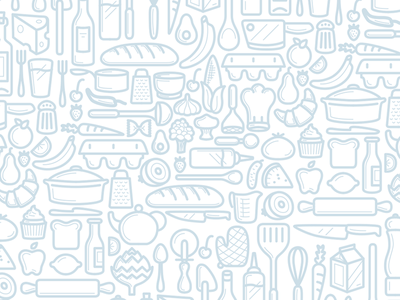 Out of Milk Pattern shopping groceries milk out of milk icon set design iconography icon pattern illustration