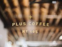 Plus Coffee.