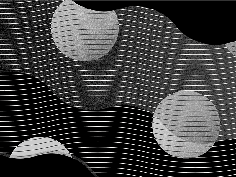 002—Fluid abstract texture monochrome pattern geometry geometric illustration