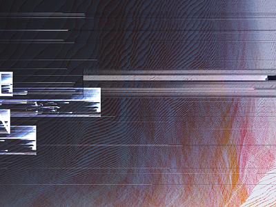 003—Glitch texture distortion glitch glitch art pixel sorting branding illustration