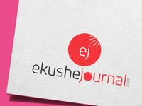 ekushe journal logo design