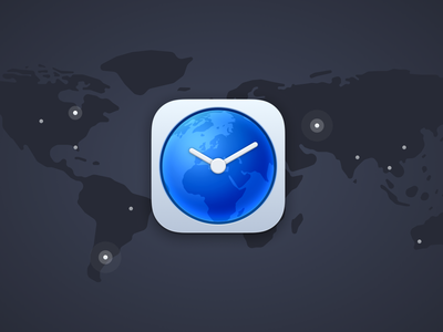 Time Zone Pro - for Mac and iOS testflight ux ui timezones clock map icon apple watch macos apple ios