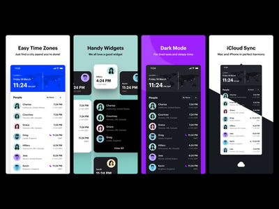 App Store Assets clock team product ux ui apple itunes testing beta timezonepro app mac app store ios