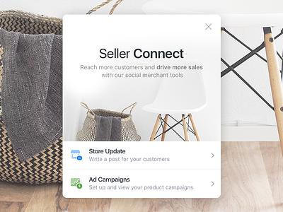 Seller Tools ui mobile ios shop merchants sell design