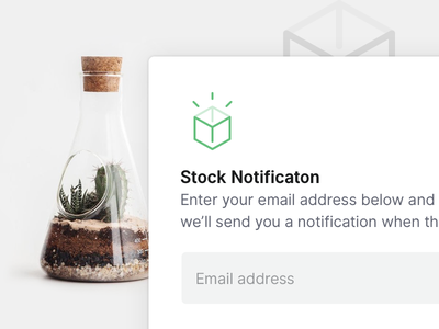 Out of stock icon overlay ui stock store shop