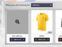 WIP shopping portal