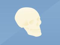 Gradient Skull